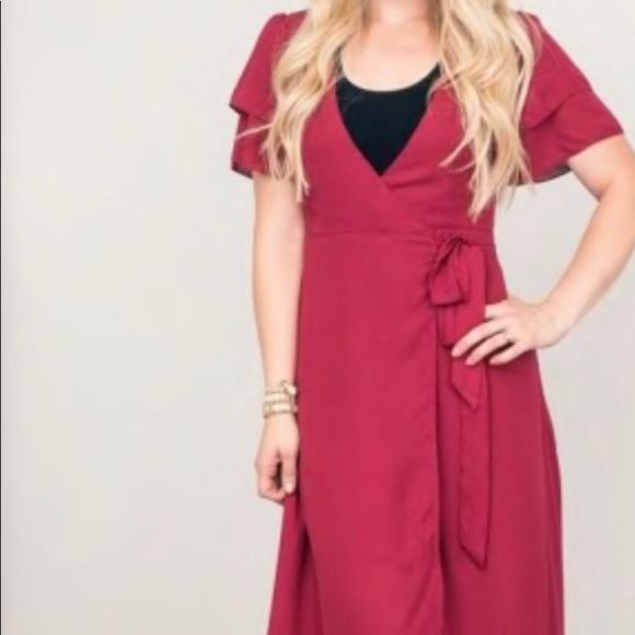 Jane.com Dresses & Skirts - Wrap Dress